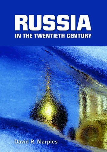 Russia in the Twentieth Century The quest for stability book cover