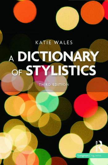A Dictionary of Stylistics book cover