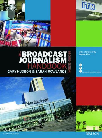 The Broadcast Journalism Handbook book cover