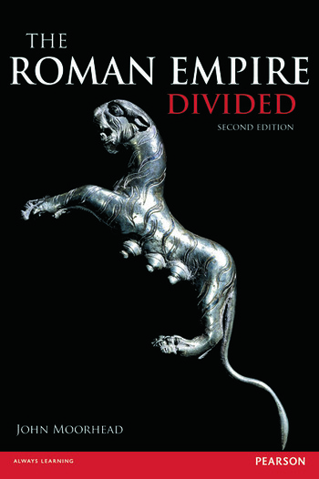 The Roman Empire Divided 400-700 AD book cover