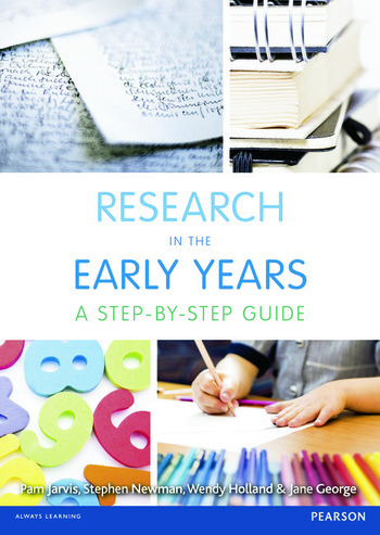 Research in the Early Years A step-by-step guide book cover