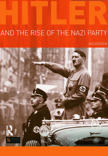 Hitler and the Rise of the Nazi Party book cover