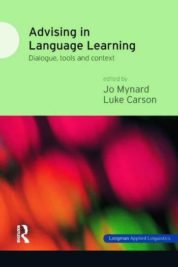 Advising in Language Learning Dialogue, Tools and Context book cover