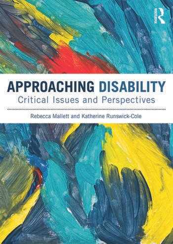 Approaching Disability Critical issues and perspectives book cover