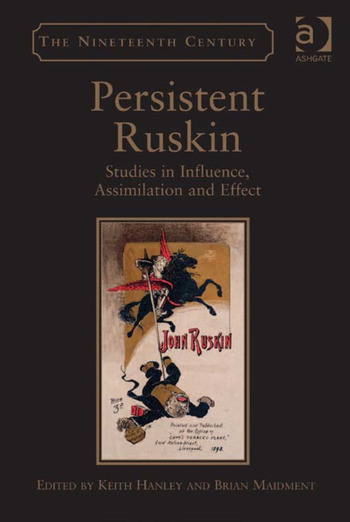 Persistent Ruskin Studies in Influence, Assimilation and Effect book cover