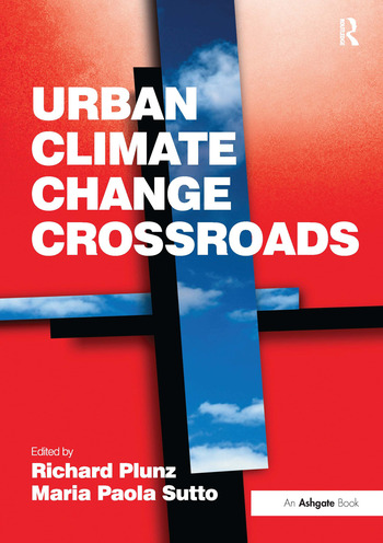 Urban Climate Change Crossroads book cover