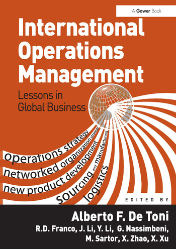 International Operations Management Lessons in Global Business book cover