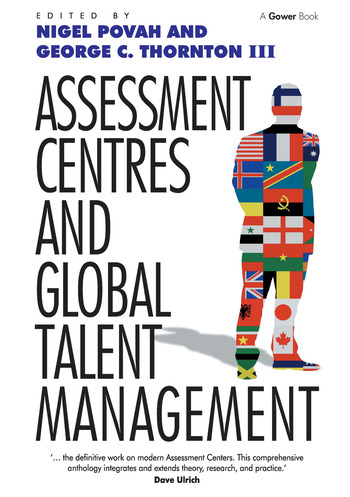 Assessment Centres and Global Talent Management book cover