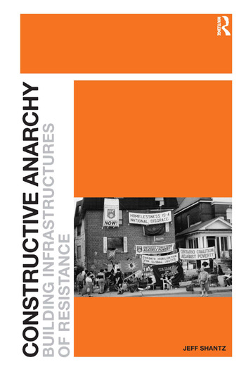 Constructive Anarchy Building Infrastructures of Resistance book cover