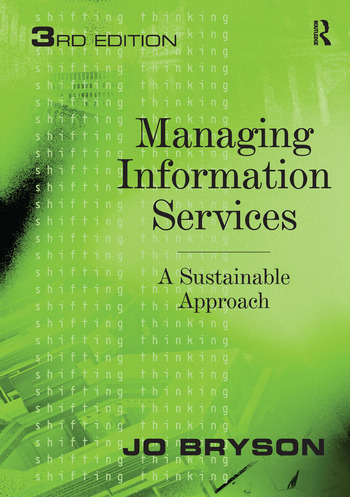 Managing Information Services A Sustainable Approach book cover
