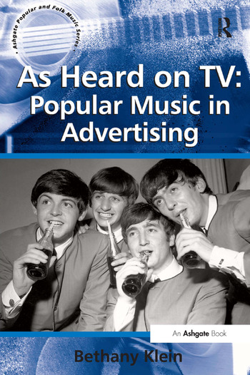 As Heard on TV: Popular Music in Advertising book cover