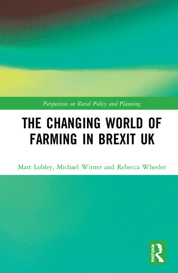 The Changing World of Farming in Brexit UK book cover
