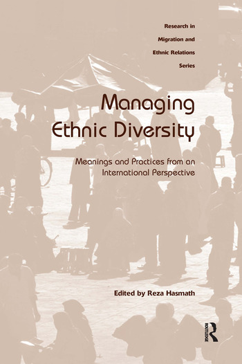 Managing Ethnic Diversity Meanings and Practices from an International Perspective book cover