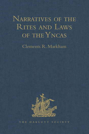Narratives of the Rites and Laws of the Yncas book cover