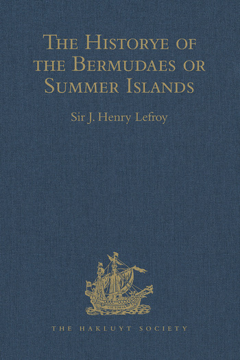The Historye of the Bermudaes or Summer Islands book cover