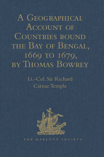 A Geographical Account of Countries round the Bay of Bengal, 1669 to 1679, by Thomas Bowrey book cover