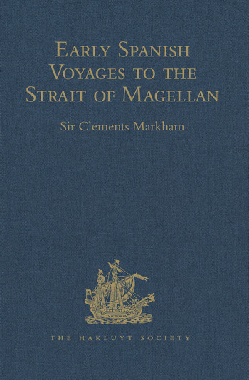 Early Spanish Voyages to the Strait of Magellan book cover