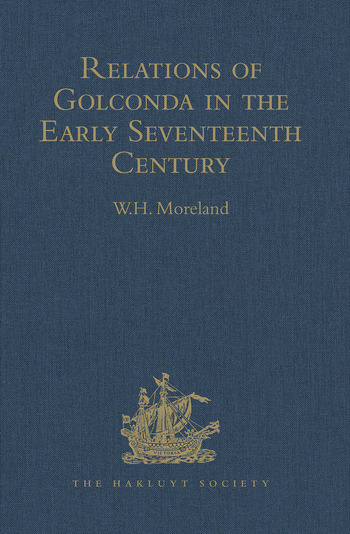 Relations of Golconda in the Early Seventeenth Century book cover