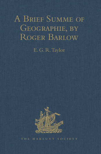 A Brief Summe of Geographie, by Roger Barlow book cover