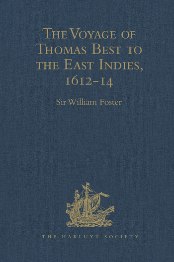 The Voyage of Thomas Best to the East Indies, 1612-14 book cover