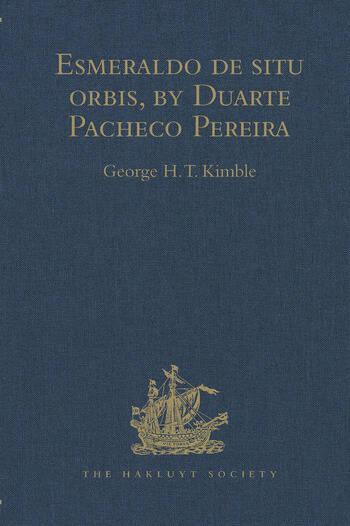 Esmeraldo de situ orbis, by Duarte Pacheco Pereira book cover