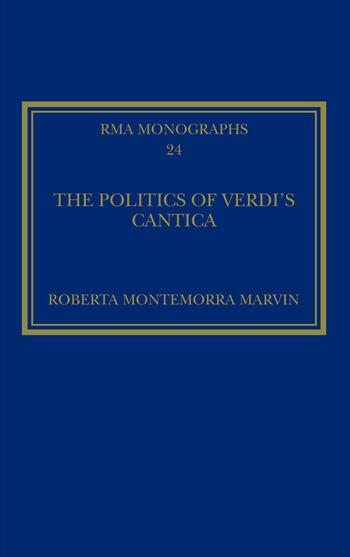 The Politics of Verdi's Cantica book cover