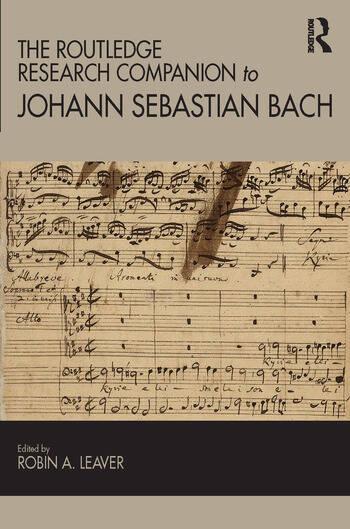 The Routledge Research Companion to Johann Sebastian Bach book cover