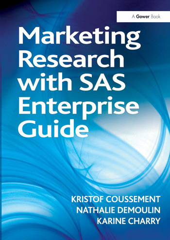 Marketing Research with SAS Enterprise Guide book cover