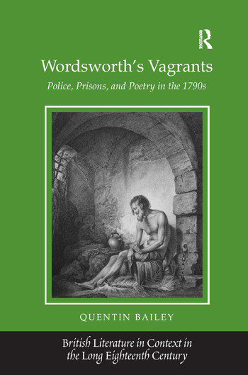 Wordsworth's Vagrants Police, Prisons, and Poetry in the 1790s book cover