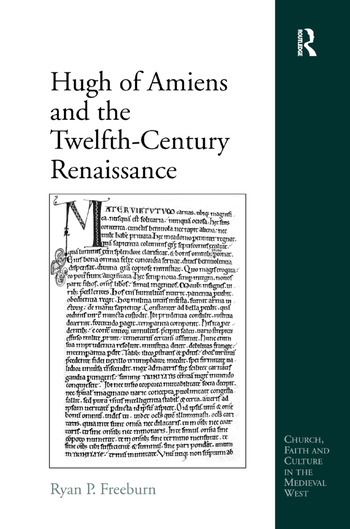 Hugh of Amiens and the Twelfth-Century Renaissance book cover