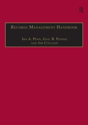 Records Management Handbook book cover