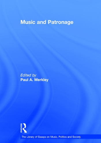 Music and Patronage book cover