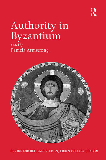 Authority in Byzantium book cover