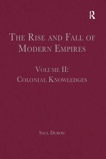 The Rise and Fall of Modern Empires, Volume II Colonial Knowledges book cover