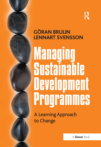 Managing Sustainable Development Programmes A Learning Approach to Change book cover