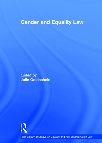 Gender and Equality Law book cover