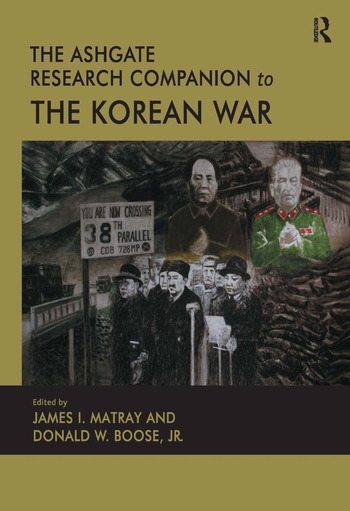 The Ashgate Research Companion to the Korean War book cover