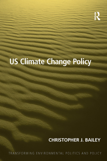 US Climate Change Policy book cover