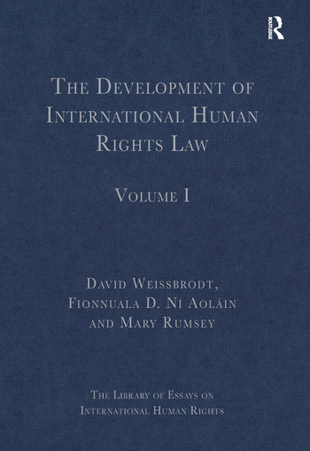 The Development of International Human Rights Law Volume I book cover