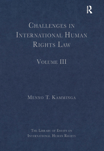 Challenges in International Human Rights Law Volume III book cover