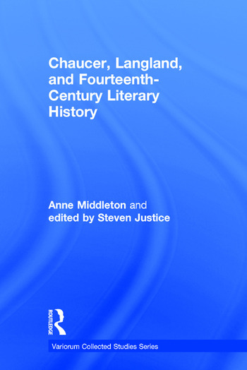 Chaucer, Langland, and Fourteenth-Century Literary History book cover