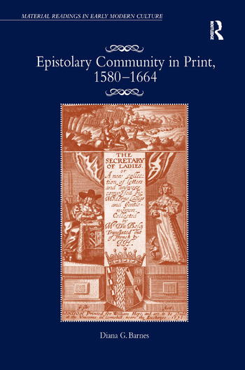 Epistolary Community in Print, 1580–1664 book cover