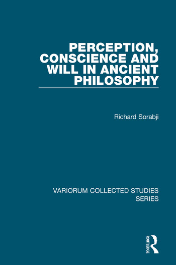 Perception, Conscience and Will in Ancient Philosophy book cover