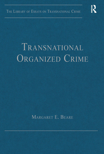 Transnational Organized Crime book cover