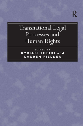 Transnational Legal Processes and Human Rights book cover