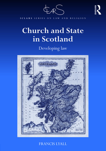 Church and State in Scotland Developing law book cover