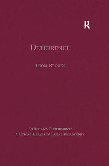 Deterrence book cover