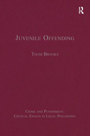Juvenile Offending book cover