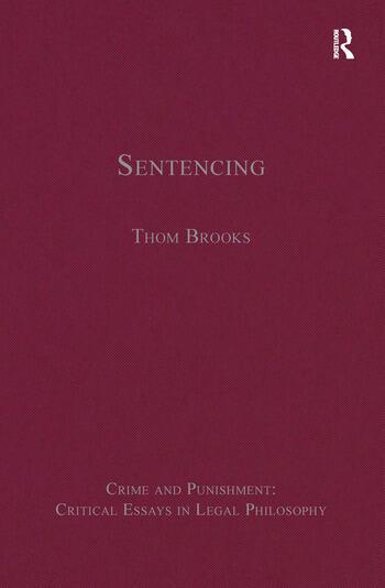 Sentencing book cover