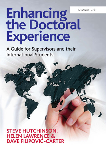Enhancing the Doctoral Experience A Guide for Supervisors and their International Students book cover